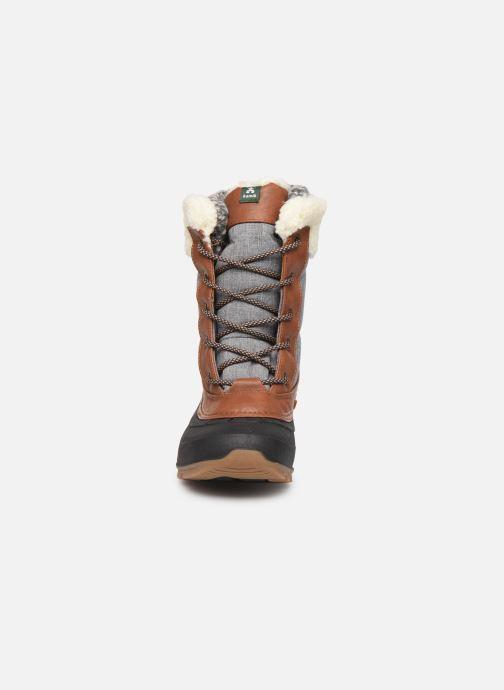 Chaussures de sport Kamik SNOWPEARL C Noir vue portées chaussures