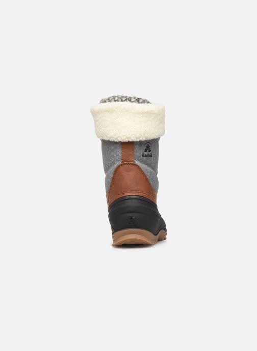 Chaussures de sport Kamik SNOWPEARL C Noir vue droite