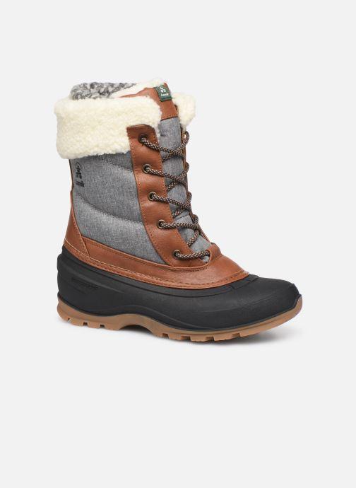 Chaussures de sport Kamik SNOWPEARL C Noir vue détail/paire