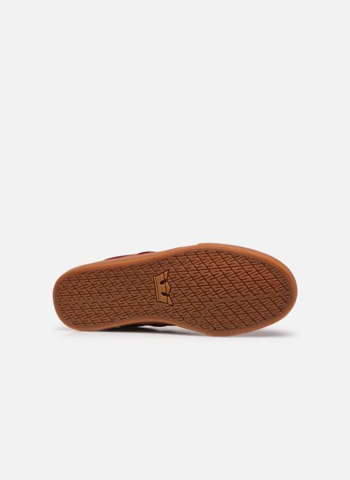 Sneakers Supra Stacks II Vulc Bordeaux boven