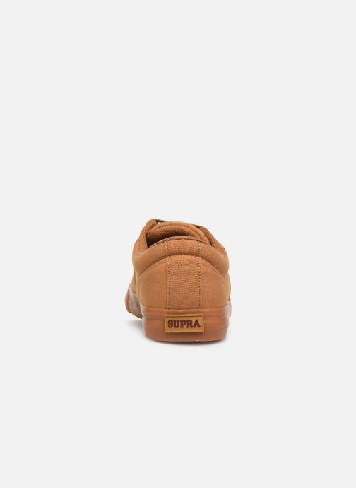 Sneakers Supra Stacks II Vulc Bruin rechts