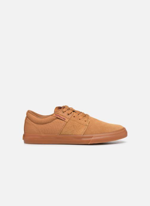 Sneaker Supra Stacks II Vulc braun ansicht von hinten