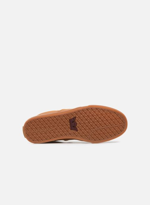 Baskets Supra Stacks II Vulc Marron vue haut