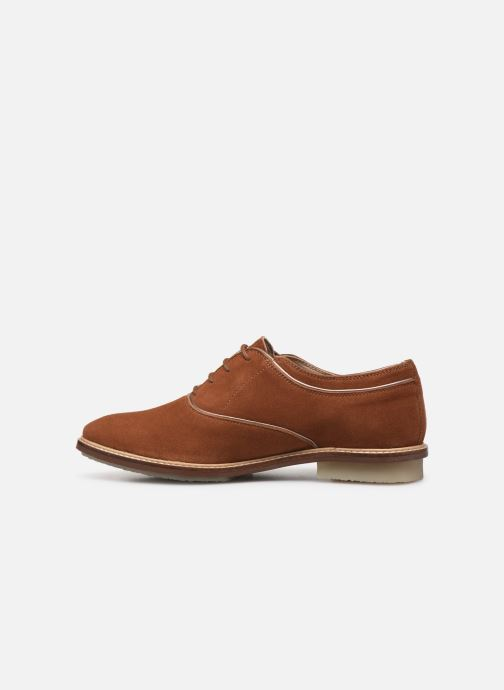 Chaussures à lacets Kickers Seville Marron vue face