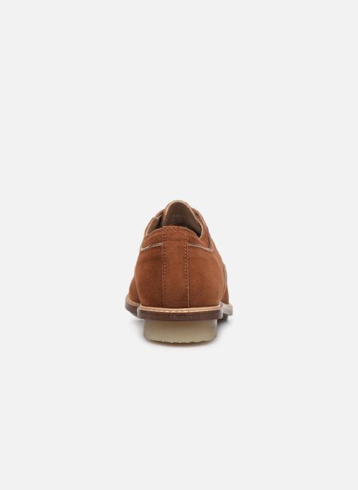 Chaussures à lacets Kickers Seville Marron vue droite