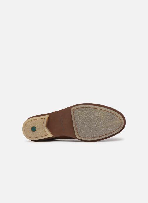 Chaussures à lacets Kickers Seville Marron vue haut