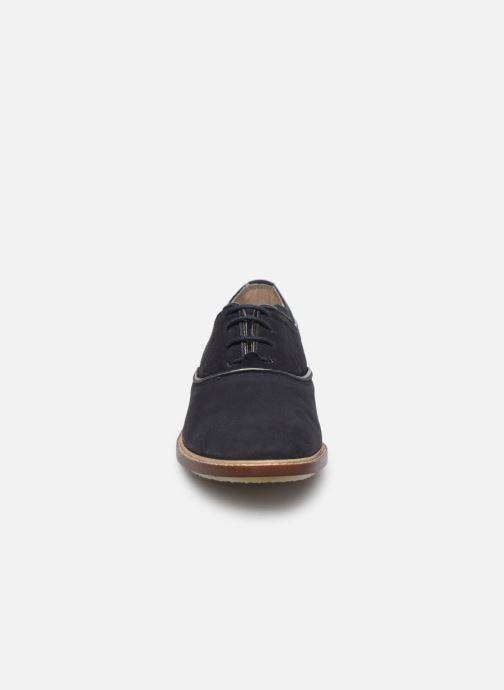 Chaussures à lacets Kickers Seville Bleu vue portées chaussures