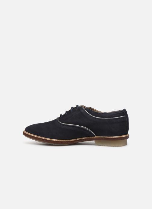 Chaussures à lacets Kickers Seville Bleu vue face