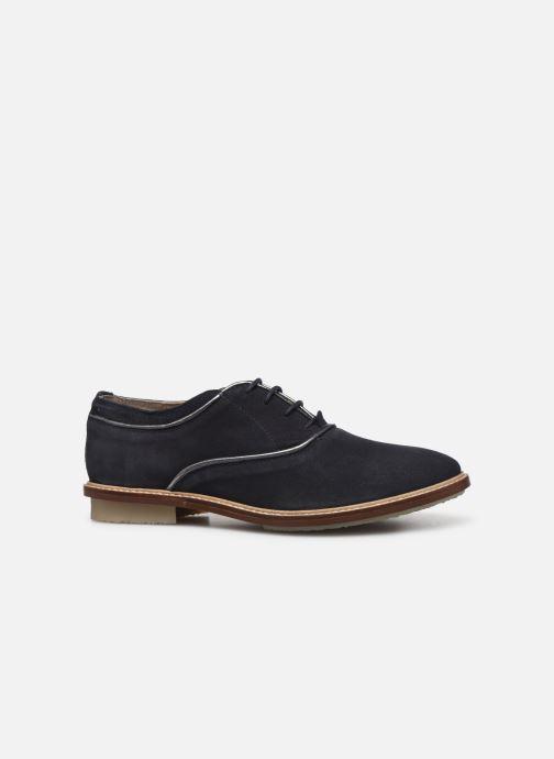 Zapatos con cordones Kickers Seville Azul vistra trasera