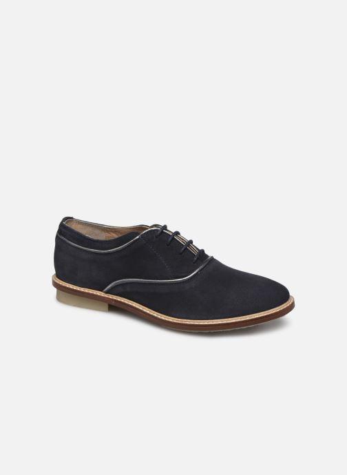 Zapatos con cordones Kickers Seville Azul vista de detalle / par