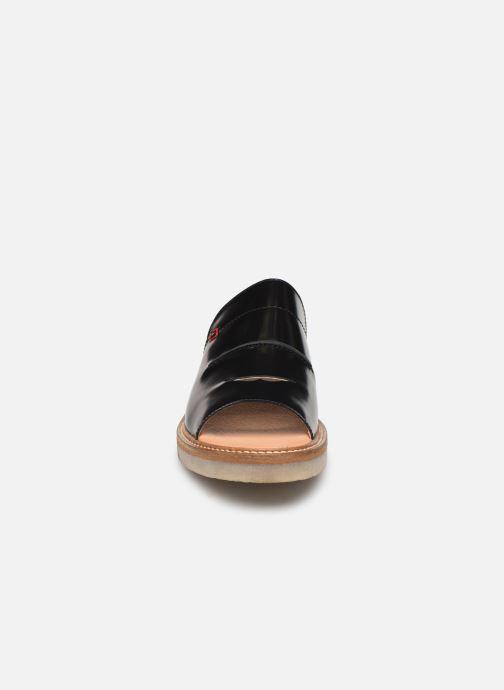 Mules et sabots Kickers Eole Noir vue portées chaussures