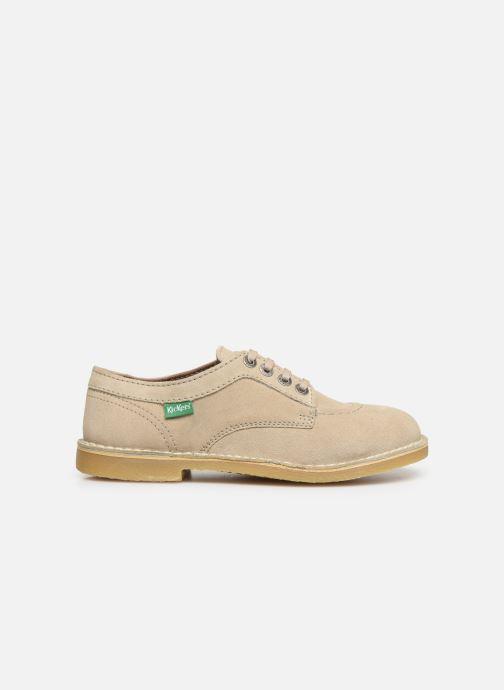 Chaussures à lacets Kickers Karma Beige vue derrière