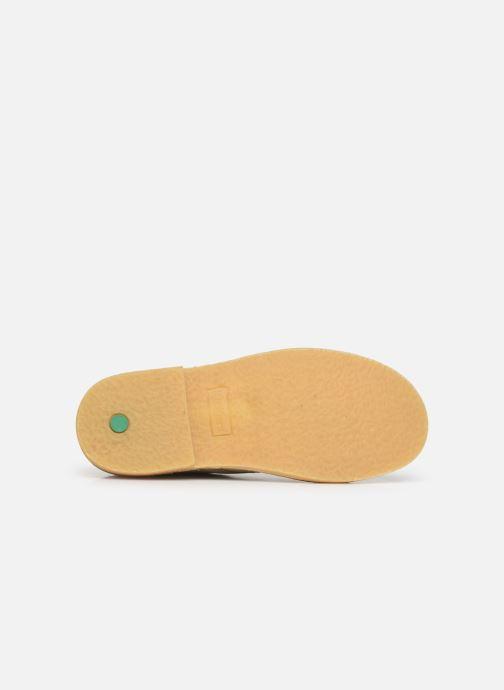 Zapatos con cordones Kickers Karma Beige vista de arriba