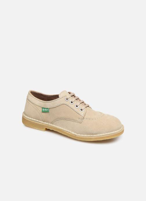 Chaussures à lacets Kickers Karma Beige vue détail/paire