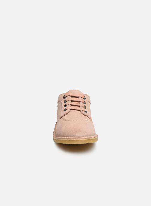Chaussures à lacets Kickers Karma Rose vue portées chaussures