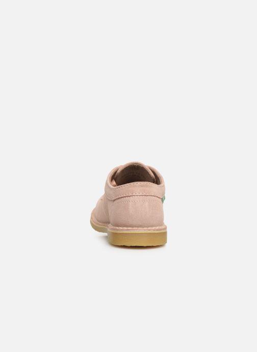 Chaussures à lacets Kickers Karma Rose vue droite