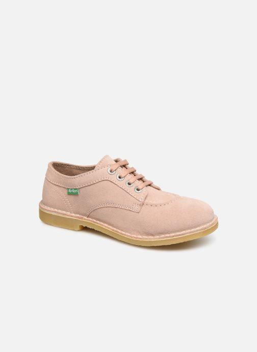 Chaussures à lacets Kickers Karma Rose vue détail/paire