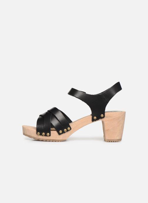 Sandali e scarpe aperte Kickers Satine Nero immagine frontale