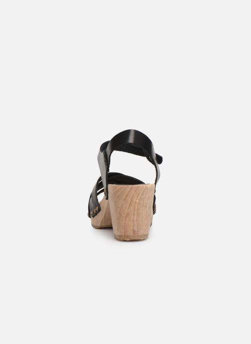 Sandali e scarpe aperte Kickers Satine Nero immagine destra
