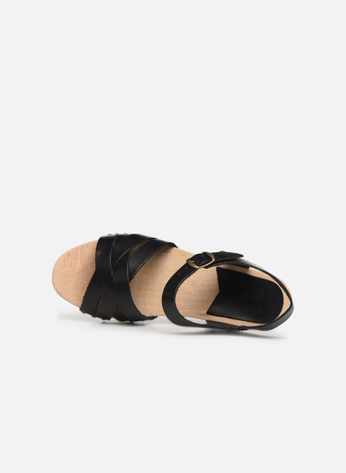 Sandali e scarpe aperte Kickers Satine Nero immagine sinistra