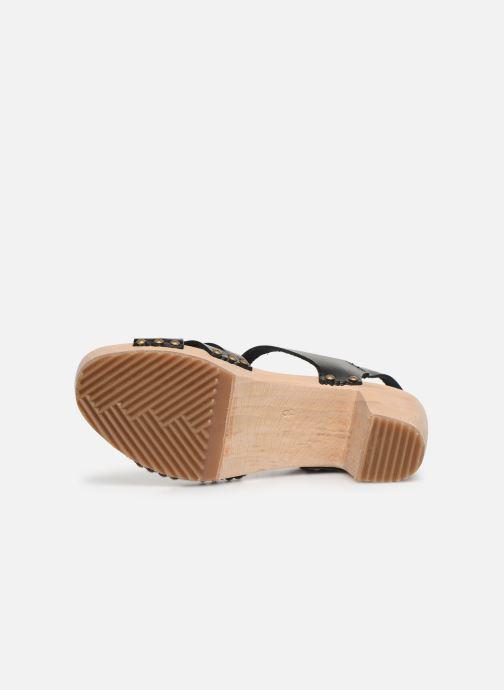 Sandali e scarpe aperte Kickers Satine Nero immagine dall'alto