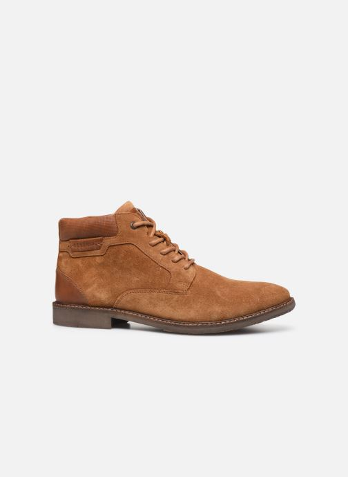 Ankle boots Redskins Jamili Brown back view
