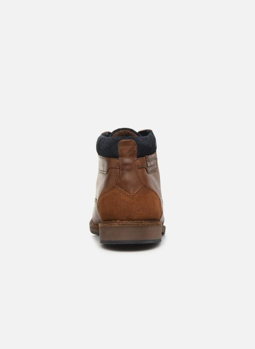 Ankle boots Redskins Jamilo Brown view from the right