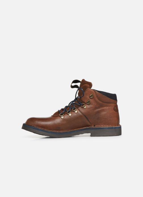 Ankle boots Redskins Wayat Brown front view