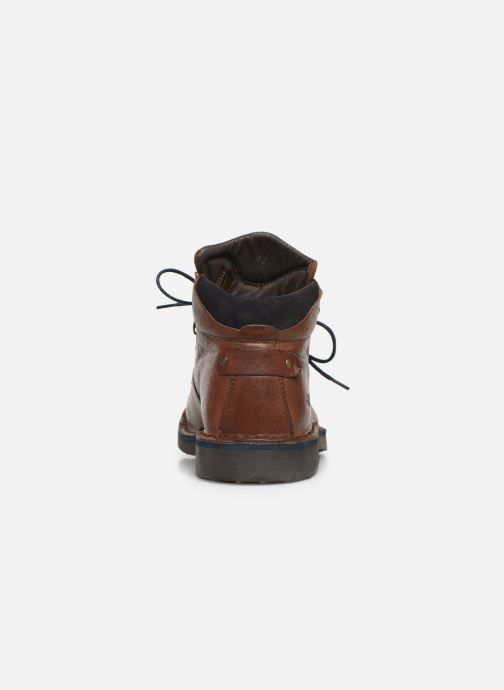 Ankle boots Redskins Wayat Brown view from the right