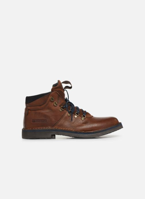 Ankle boots Redskins Wayat Brown back view