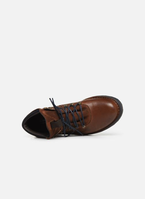 Ankle boots Redskins Wayat Brown view from the left