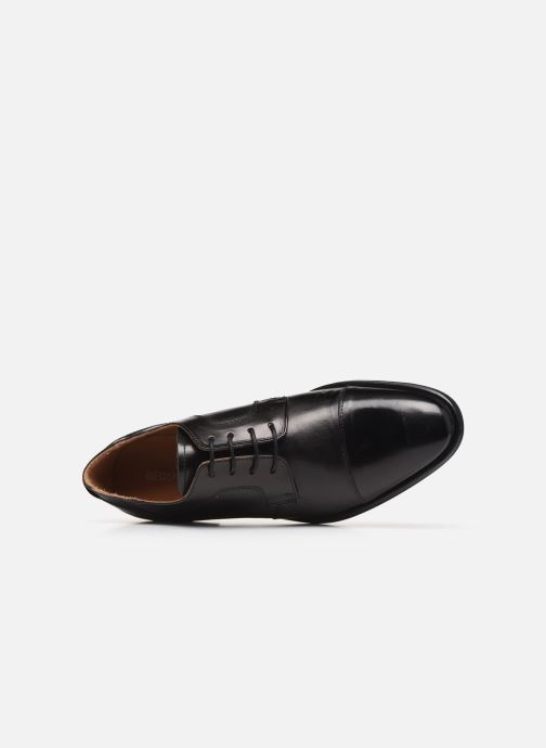 Lace-up shoes Redskins Windsor Black view from the left