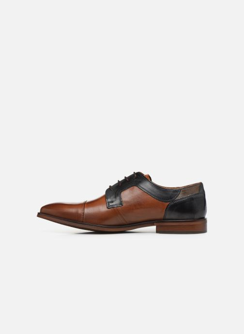 Lace-up shoes Redskins Windsor Brown front view