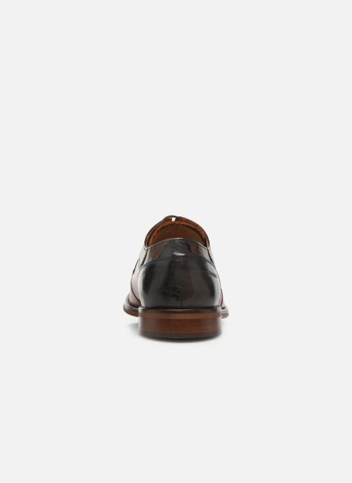 Lace-up shoes Redskins Windsor Brown view from the right