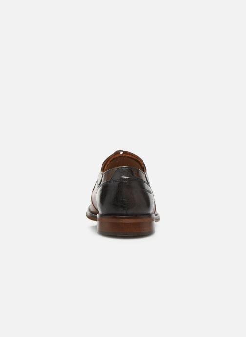 Zapatos con cordones Redskins Windsor Marrón vista lateral derecha