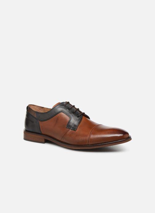 Zapatos con cordones Redskins Windsor Marrón vista de detalle / par