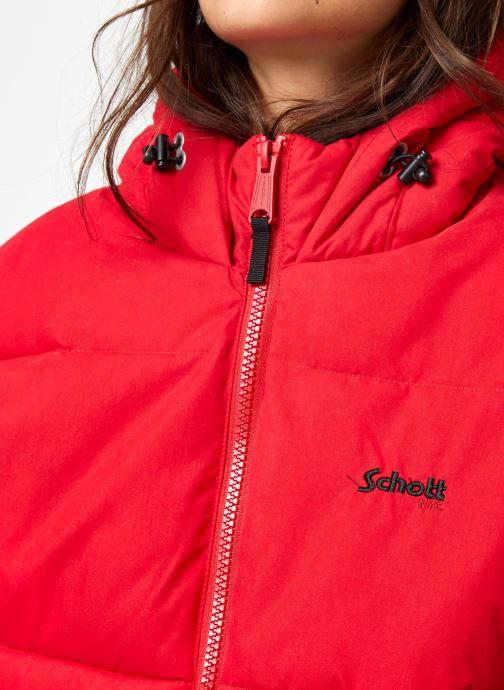 Kleding Schott Doudounne Confort Fit Jkt Alaska W Rood voorkant