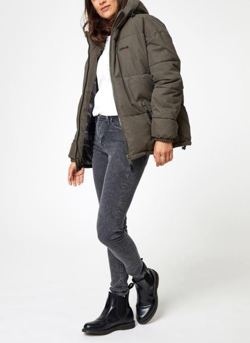 Vêtements Schott Doudounne Confort Fit Jkt Alaska W Vert vue bas / vue portée sac
