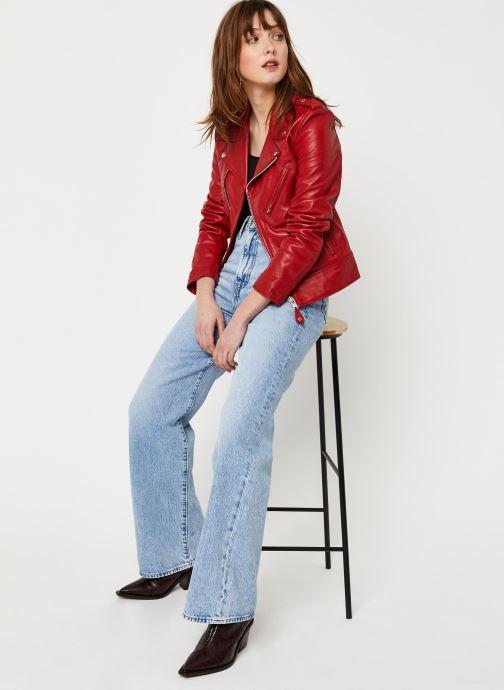 Vêtements Schott Perfecto Lcw 1601D W Rouge vue bas / vue portée sac