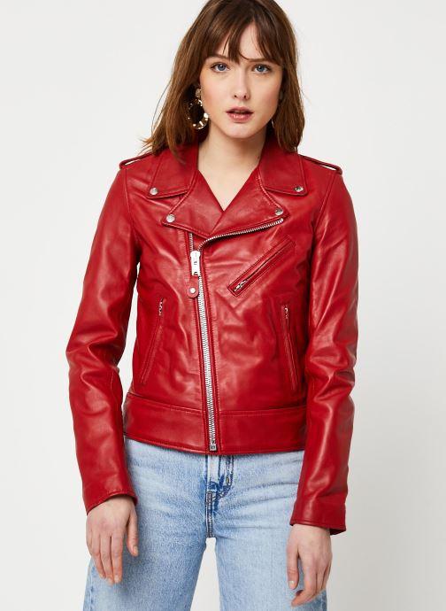Vêtements Schott Perfecto Lcw 1601D W Rouge vue droite