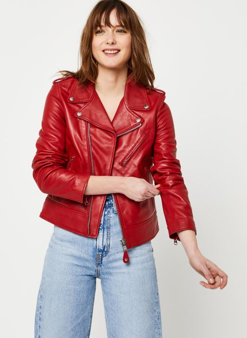 Vêtements Schott Perfecto Lcw 1601D W Rouge vue détail/paire