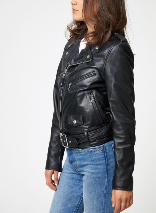Vêtements Schott Perfecto Lcw 8600 W Noir vue droite