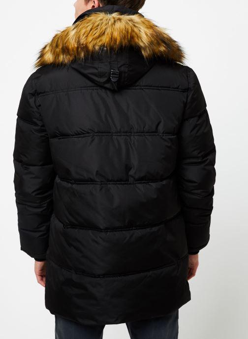 Vêtements Schott Doudounne Confort Fit Airfur M Noir vue portées chaussures
