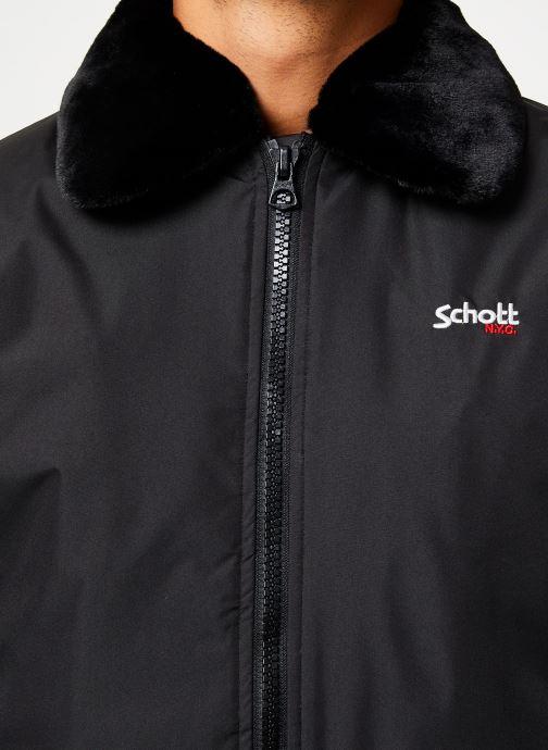 Vêtements Schott Blouson Aviateur Airtop M Noir vue face