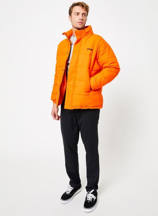 Tøj Schott Doudounne Confort Fit Nebraska M Orange se forneden