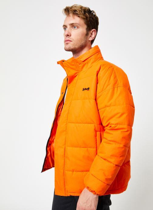 Tøj Schott Doudounne Confort Fit Nebraska M Orange Se fra højre