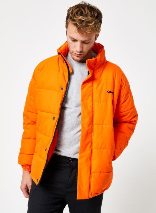 Tøj Schott Doudounne Confort Fit Nebraska M Orange detaljeret billede af skoene