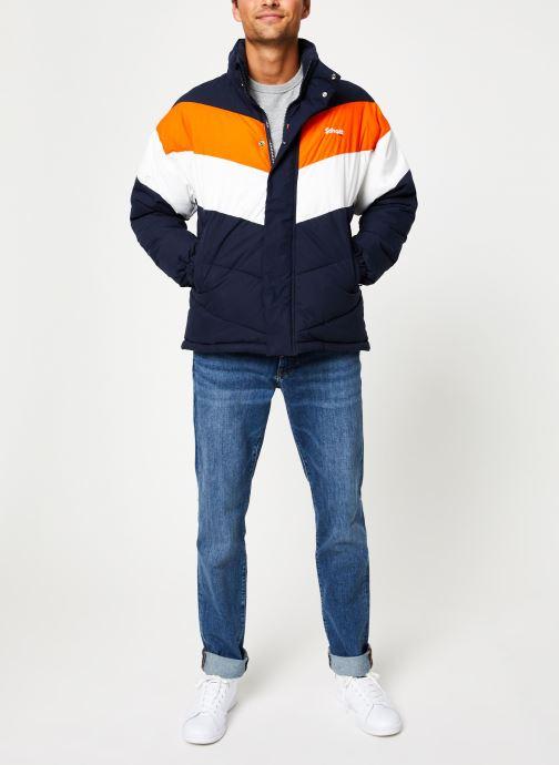 Vêtements Schott Doudounne Confort Fit Nebraska 2 M Bleu vue bas / vue portée sac