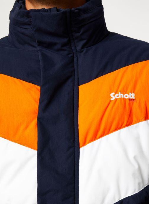 Vêtements Schott Doudounne Confort Fit Nebraska 2 M Bleu vue face