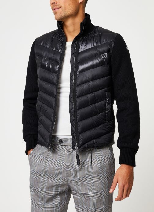 Vêtements Schott Blouson Bi-Matiere Robson 20 M Noir vue droite
